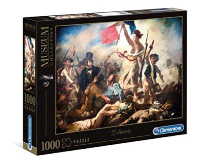 Clementoni 39549 Museum Collection Puzzle Louvre Delacroix Liberty Leading The People 1000 Pezzi Made In Italy Puzzle Adulto Quadri 0
