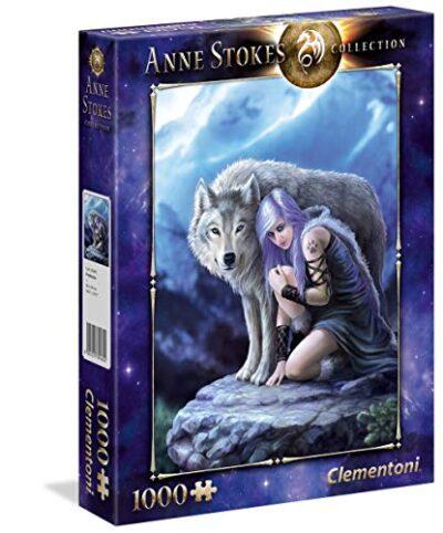 Clementoni Anne Stokes Collection Protector Puzzle 1000 Pezzi Multicolore 39465 0