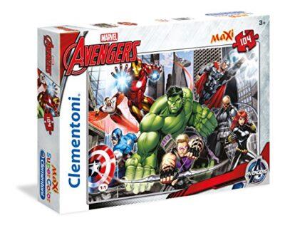 Clementoni Avengers Maxi Supercolor Puzzle 104 Pezzi 23688 0