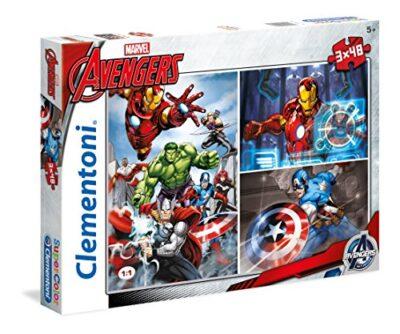 Clementoni Avengers Supercolor Puzzle 3 X 48 Pezzi 25203 0