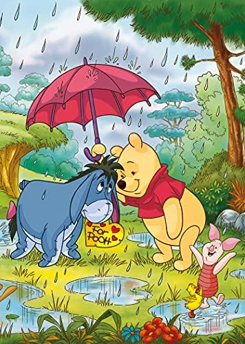 Clementoni Clementoni 25232 Supercolor Puzzle Winnie The Pooh 3x48 Pezzi Disney Multicolore 25232 0 0