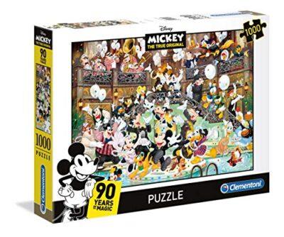 Clementoni Clementoni 39472 High Quality Collection Puzzle Mickey 90 Celebration 1000 Pezzi Disney Multicolore 39472 0