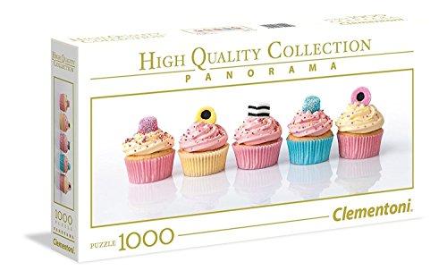 Clementoni Collection Panorama Puzzle Liquorice Cupcakes 1000 Pezzi Colore Neutro 39425 0