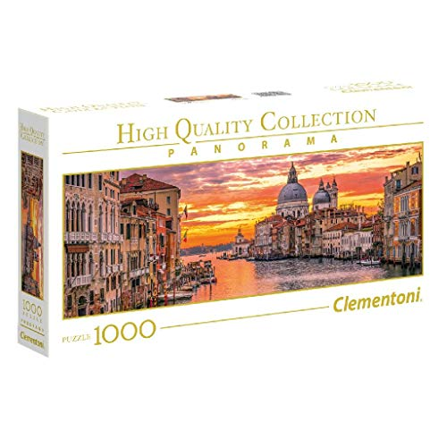 Clementoni Collection Panorama Puzzle The Grand Canal Venice 1000 Pezzi 39426 0
