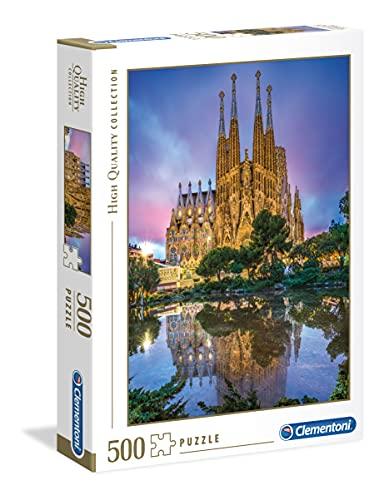 Clementoni Collection Puzzle Barcelona 500 Pezzi Multicolore 35062 0