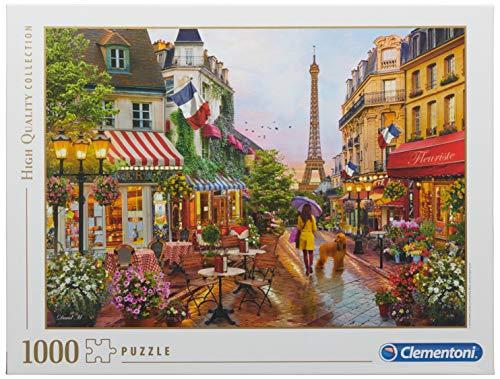 Clementoni Collection Puzzle Flowers In Paris 1000 Pezzi Multicolore 39482 0