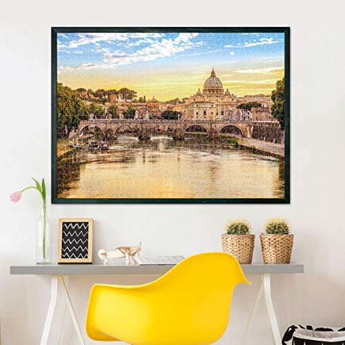 Clementoni Collection Rome Puzzle 1puzzle Adulti 500 Pezzi Made In Italy Multicolore 31819 0 2