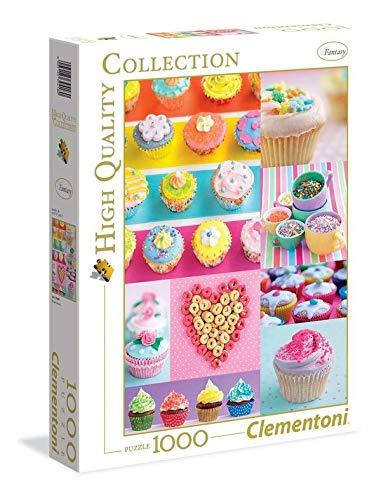 Clementoni Collection Sweet Donuts Puzzle 1000 Pezzi Multicolore 39419 0