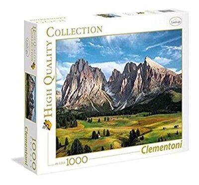 Clementoni Coronation Of The Alps Puzzle 100 Pezzi Multicolore 1000 39414 0