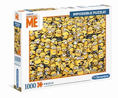 Clementoni Despicable Me 3 Impossible Puzzle 1000 Pezzi 39408 0