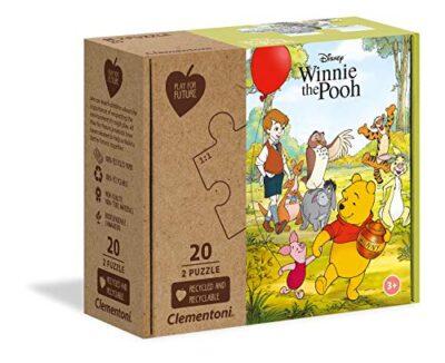 Clementoni Disney Winnie The Pooh Puzzle Da 2 X 20 Pezzi Multicolore 24772 0