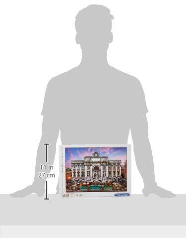 Clementoni Fontana Di Trevi High Quality Collection Puzzle Multicolore 500 Pezzi 35047 0 2
