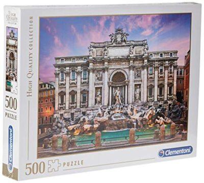 Clementoni Fontana Di Trevi High Quality Collection Puzzle Multicolore 500 Pezzi 35047 0