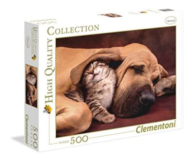 Clementoni Fototeca Puppies High Quality Collection Puzzle 500 Pezzi 35020 0