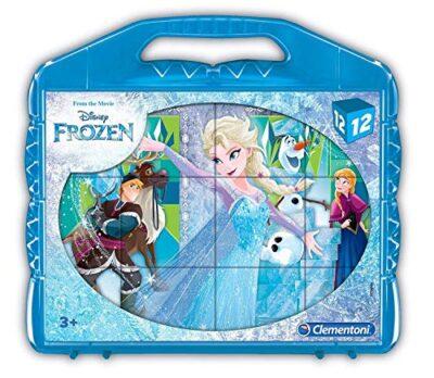 Clementoni Frozen Puzzle Cubi 12 Pezzi 41186 0
