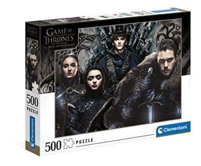 Clementoni Game Of Thrones Puzzle Adulti 500 Pezzi Made In Italy Multicolore 35091 0