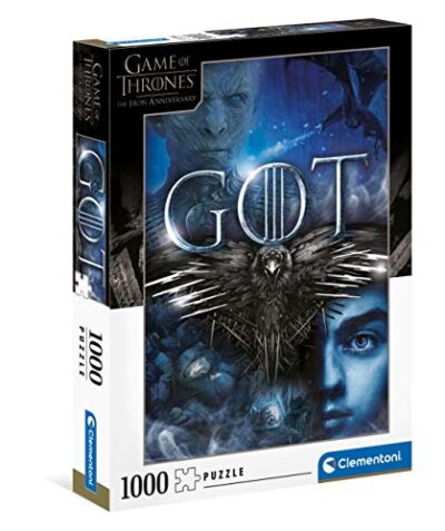 Clementoni Game Of Thrones Puzzle Adulti 1000 Pezzi Made In Italy Multicolore 39589 0