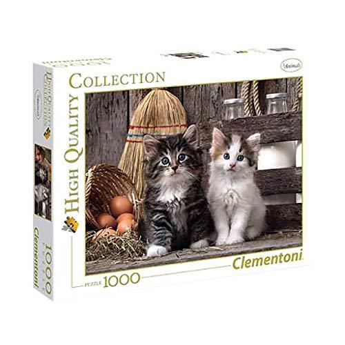 Clementoni Gattini Puzzle 1000 Pezzi Multicolore 39340 0