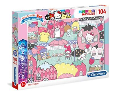 Clementoni Hello Kitty Puzzle 104 Pezzi Multicolore 20172 0