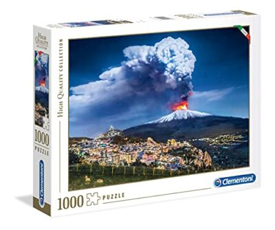 Clementoni High Quality Collection Etna Puzzle 1000 Pezzi Multicolore 39453 0