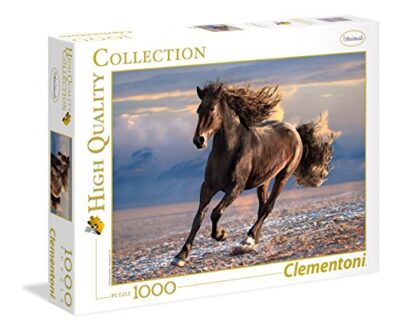 Clementoni High Quality Collection Free Horse Puzzle 1000 Pezzi Multicolore 39420 0