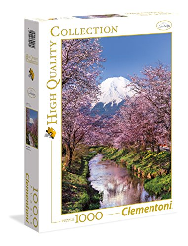 Clementoni High Quality Collection Fuji Mountain Puzzle 1000 Pezzi Multicolore 39418 0