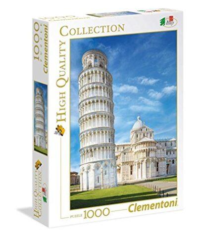 Clementoni High Quality Collection Pisa Puzzle 1000 Pezzi Multicolore 39455 0