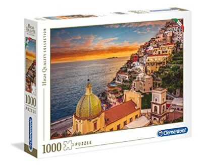 Clementoni High Quality Collection Positano Puzzle 1000 Pezzi Multicolore 39451 0