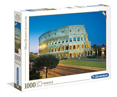 Clementoni High Quality Collection Roma Colosseo Puzzle 1000 Pezzi Multicolore 39457 0