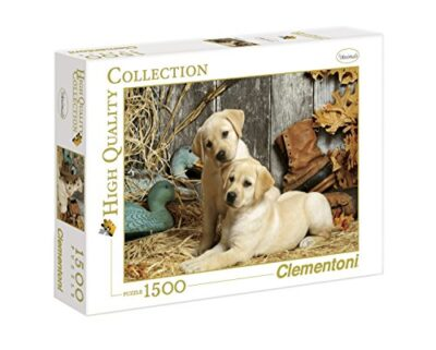 Clementoni Hunting Dogs High Quality Collection Puzzle Colore Neutro 1500 Pezzi 31976 0