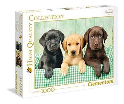 Clementoni I Tre Labrador Puzzle 1000 Pezzi Multicolore 39279 0