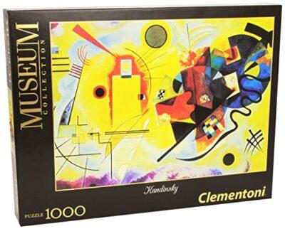 Clementoni Kandisky Giallo Rosso E Blu Museum Collection Puzzle 1000 Pezzi 39195 0