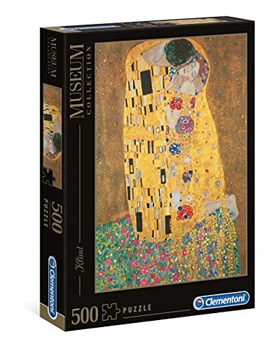 Clementoni Klimt Il Bacio Museum Collection Puzzle 500 Pezzi 35060 0