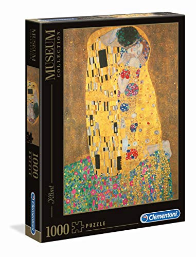 Clementoni Klimt Il Bacio Museum Collection Puzzle Colore Neutro 1000 Pezzi 31442 0