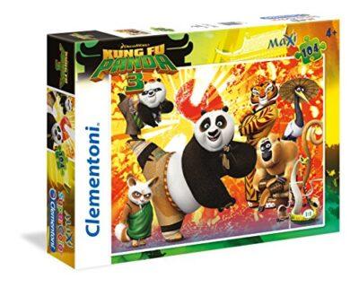 Clementoni Kung Fu Panda 3 Supercolor Puzzle Maxi 104 Pezzi 27959 0