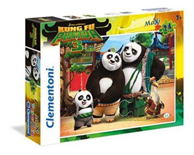 Clementoni Kung Fu Panda Supercolor Puzzle 24 Pezzi 24475 0