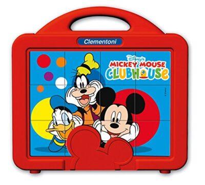 Clementoni La Casa Di Topolino Puzzle Cubi 12 Pezzi 41344 0