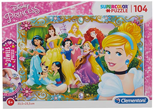 Clementoni Le Principesse Disney Sofia Jewels Puzzle 104 Pezzi 20147 0