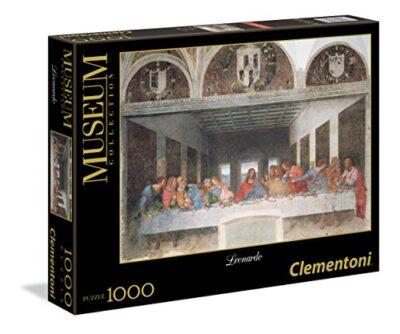 Clementoni Leonardo Cenacolo Museum Collection Puzzle Colore Neutro 1000 Pezzi 31447 0
