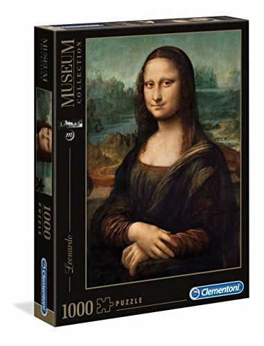 Clementoni Leonardo Gioconda Louvre Museum Collection Puzzle 1000 Pezzi 31413 0