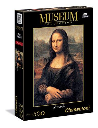 Clementoni Leonardo Da Vinci Mona Lisa Museum Collection Puzzle 500 Pezzi 30363 0