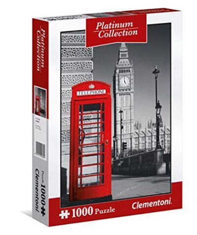 Clementoni London Puzzle Platinum Collection 1000 Pezzi 39397 0