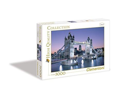 Clementoni London Tower Bridge High Quality Collection Puzzle 3000 Pezzi 33527 0