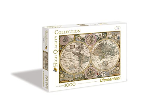Clementoni Mappa Antica High Quality Collection Puzzle 3000 Pezzi 33531 0