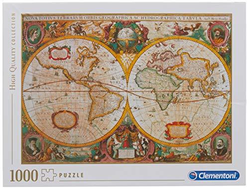 Clementoni Mappa Antica Puzzle 1000 Pezzi Multicolore 31229 0