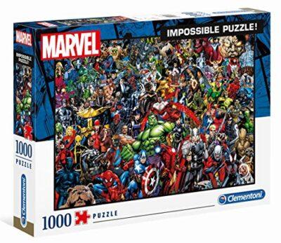 Clementoni Marvel Impossible Puzzle Colore Neutro 1000 Pezzi 39411 0
