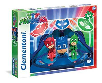 Clementoni Masks 60 Pcs Supercolor Pj Marks Puzzle Multicolore 60 Pezzi 26972 0