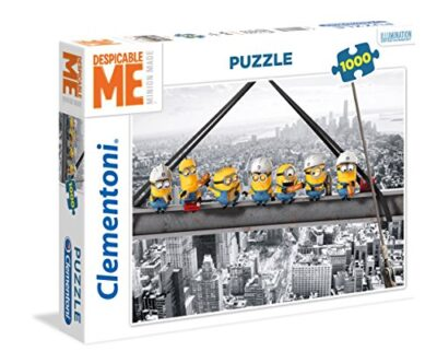 Clementoni Minions Puzzle 1000 Pezzi Multicolore 39370 0