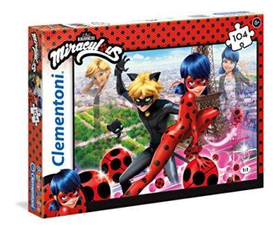 Clementoni Miraculous Ladybug Miraculuos Supercolor Puzzle 104 Pezzi 27077 0