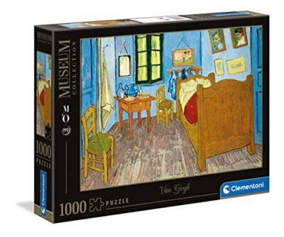 Clementoni Museum Collection Chambre Arles Van Gogh Adulti 1000 Pezzi Arte Puzzle Quadri Made In Italy Multicolore 39616 0